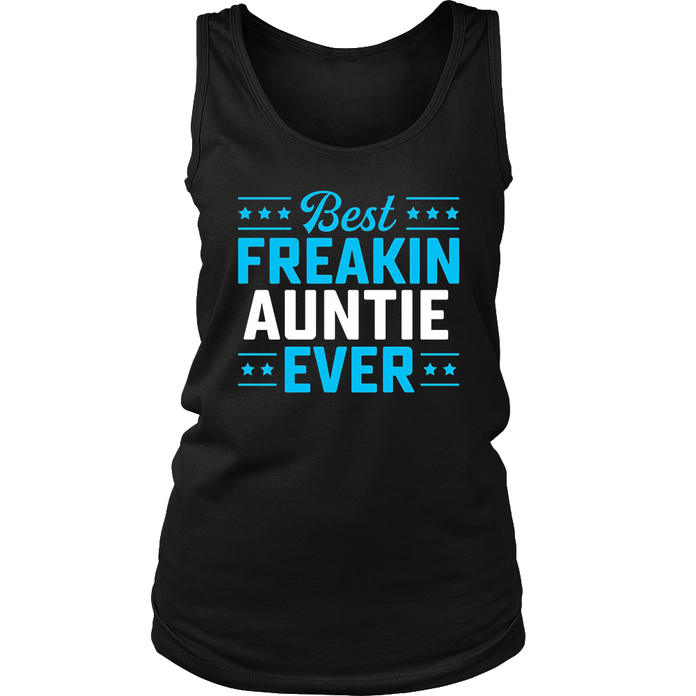 Best Freakin Auntie Matching Family T-Shirt
