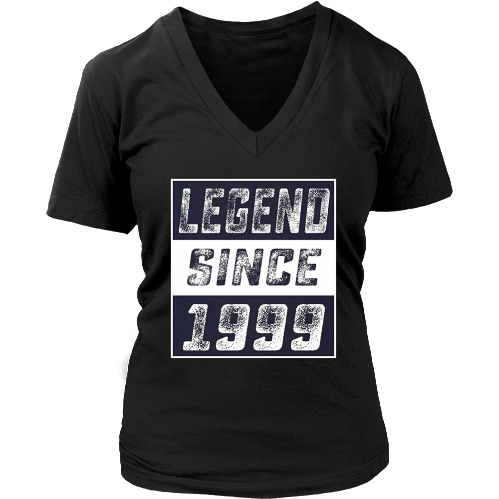 Awesome T-Shirt Legend Since 1999 18 Years Old 18th Birthday