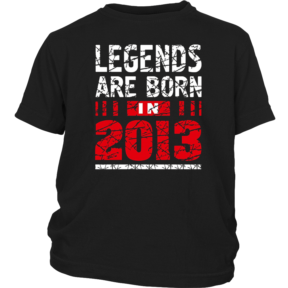 4 years old 4th Birthday B-day Gift Legends 2013 T Shirt