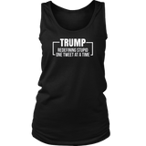 Anti Trump Redefining Stupid One Tweet At a Time T-Shirt Quotes Hoodie