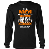 All men the best are born in January - Funny Birthday T-Shirt Quotes Hoodie