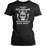Auto Mechanic TShirt Skull Graphic Tee Auto Mechanic Apparel Quotes Hoodie
