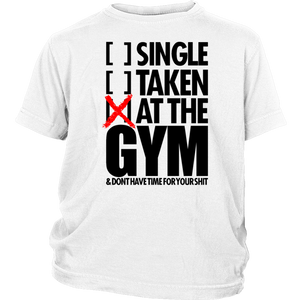 AT THE GYM T-SHIRT Hoodie - Tank-Top - Bornmay