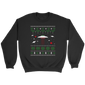 Sci FI Flying Saucer UFO and Alien Ugly Christmas T-Shirt