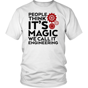 Funny Engineer Quote We Call It Engineering T Shirt