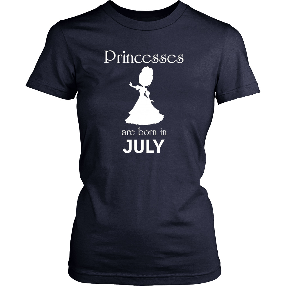 Wonder Princesses are born in July - Funny birthday t-shirt
