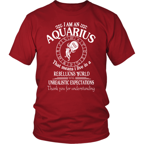 Aquarius World Tee Shirt - Bornmay