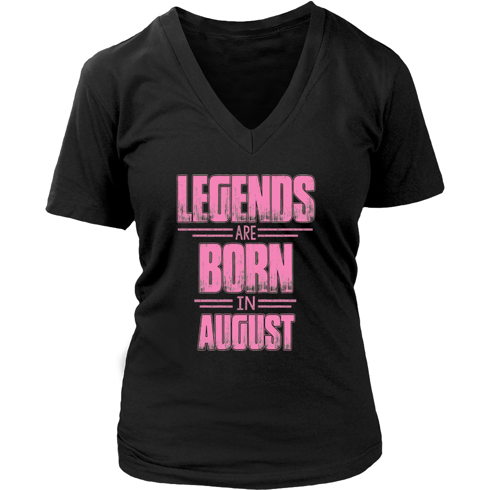 Legends Are Born In AUGUST T-shirt, VINTAGE Tee Shirt Gift