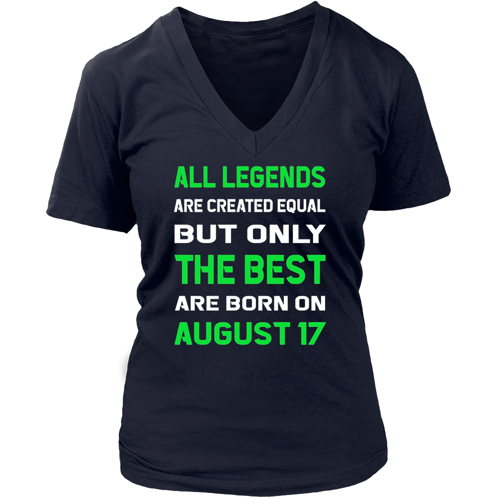 The Best People are Born on August 17 T-shirt Hoodie