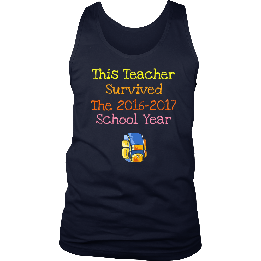 This Teacher Survived The 2016-2017 School Year T-shirt