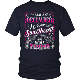 Birthday Gifts I'm A December Girl Woman T-shirt
