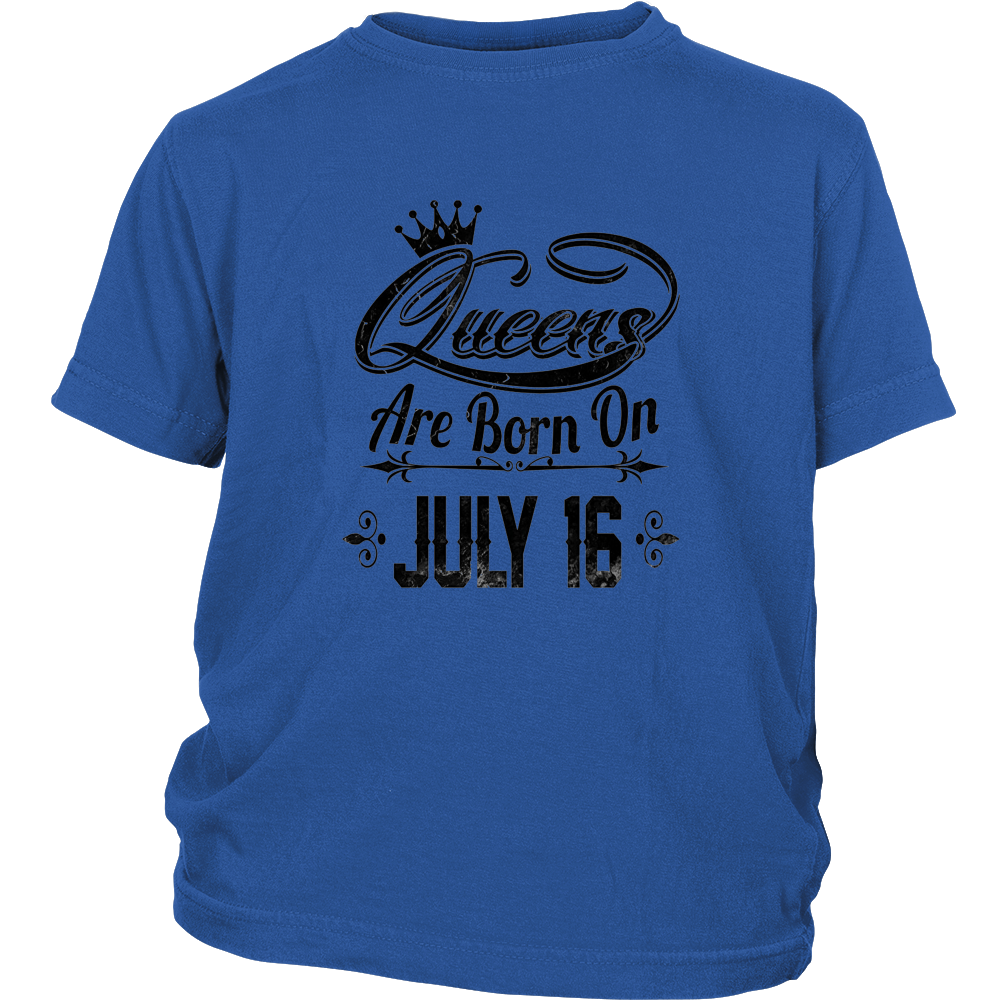 Queens Are Born On July 16 shirt