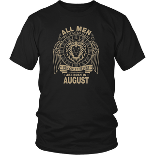 The Best Are Born In August - Leo T-shirt