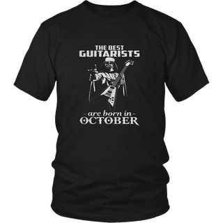 THE BEST GUITARISTS ARE BORN IN OCTOBER