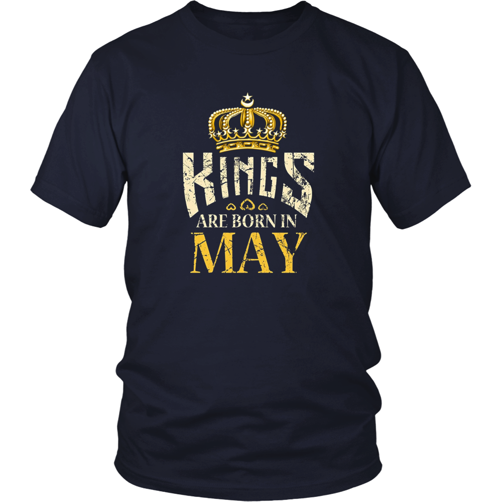KINGS Are Born In May Shirt, Vintage T-Shirt