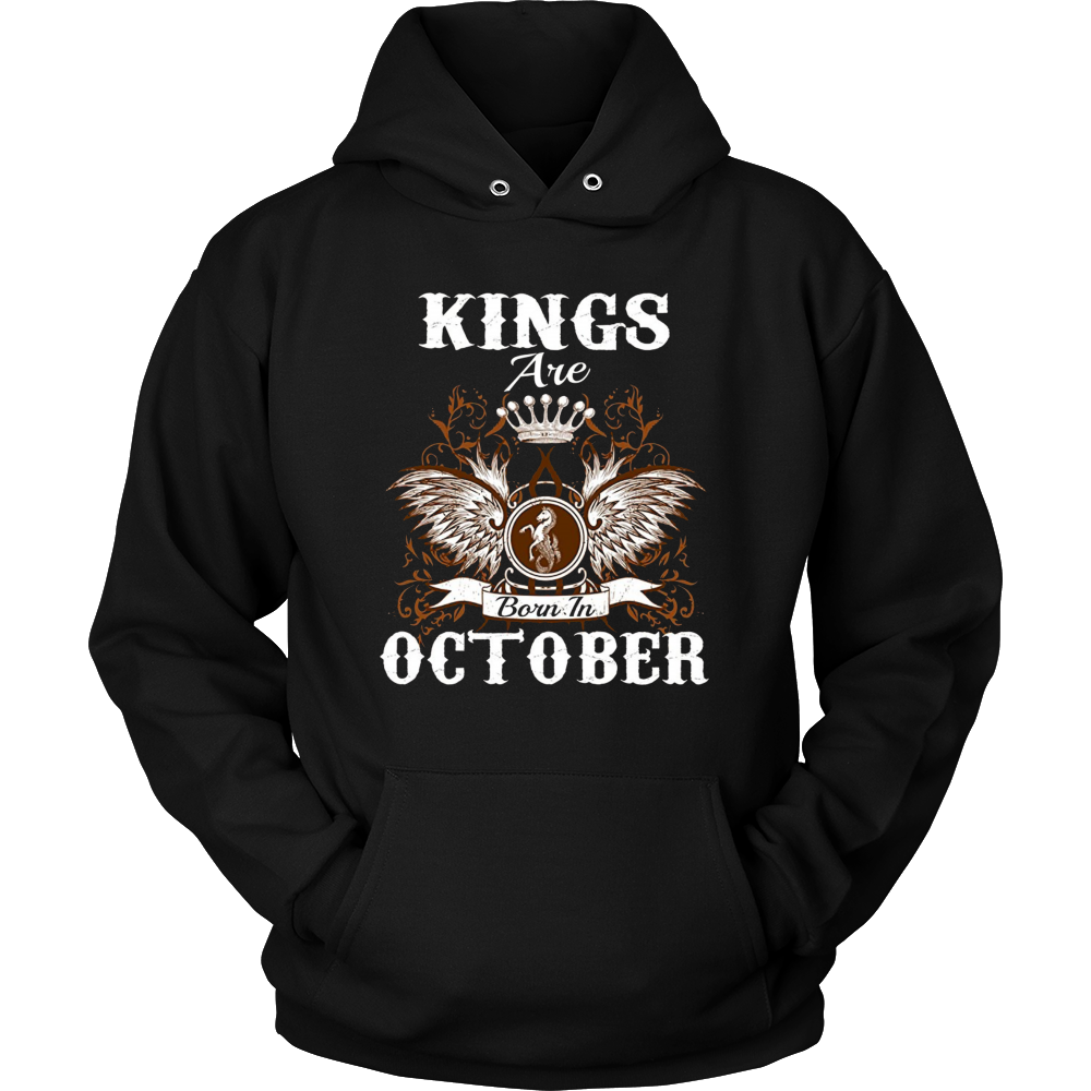 Kings Are Born In October T-Shirt