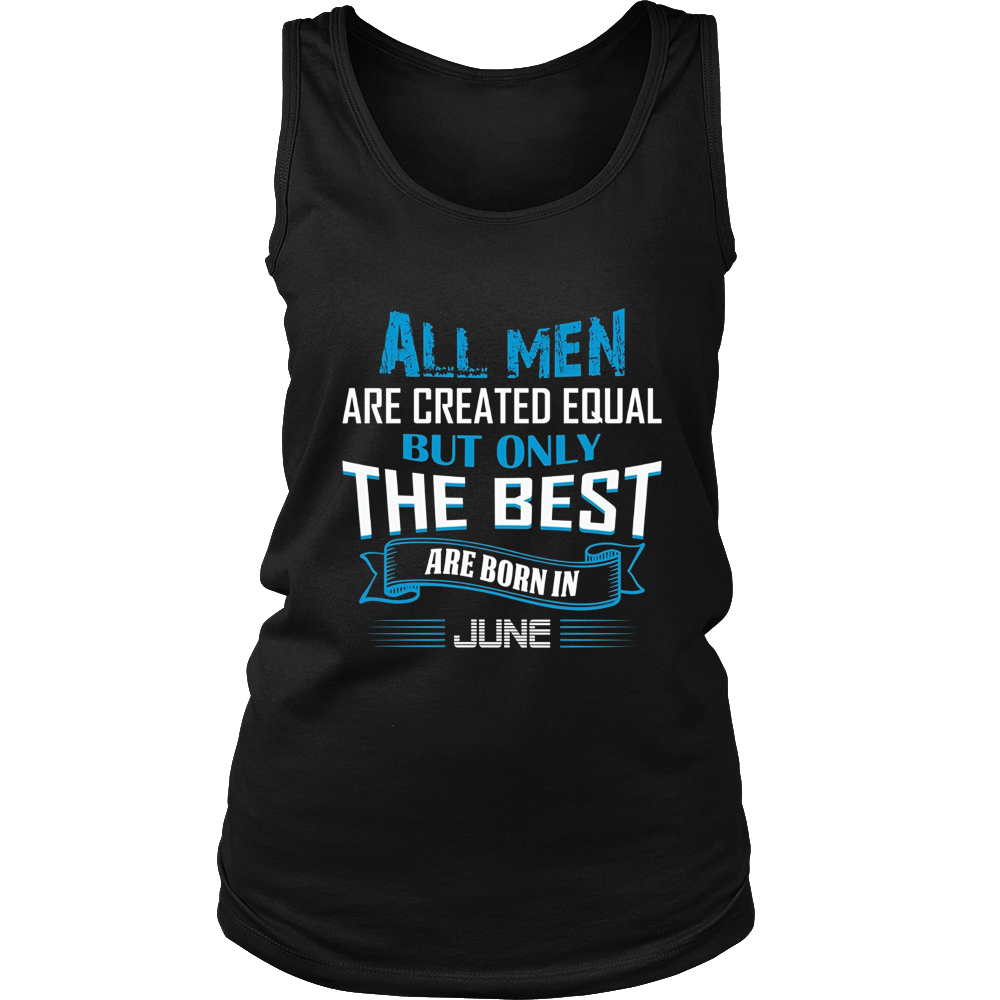 Men's ONLY THE MEN BEST ARE BORN IN JUNE T-SHIRT
