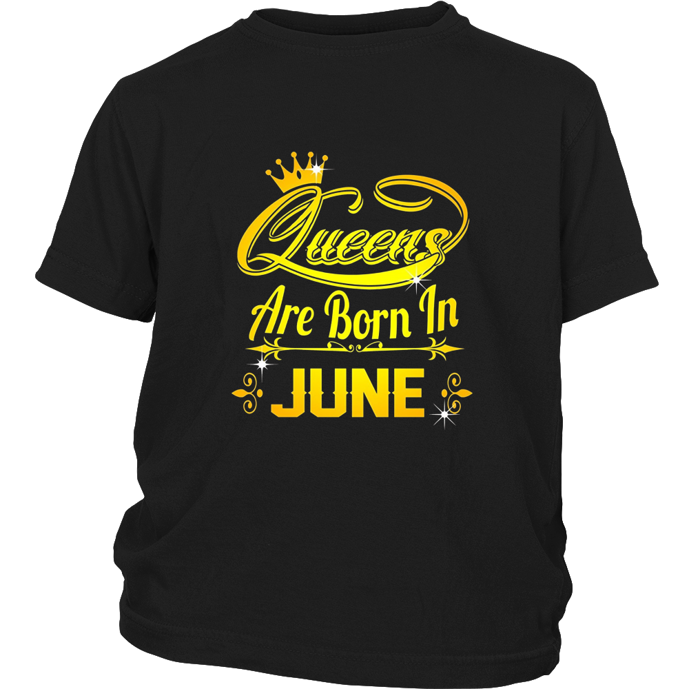 Queens Are Born In June Shirt Birthday