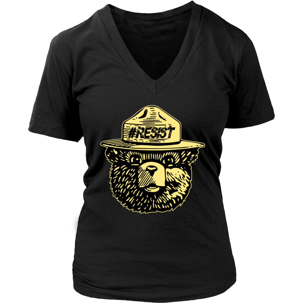 smokey bear resist t shirt