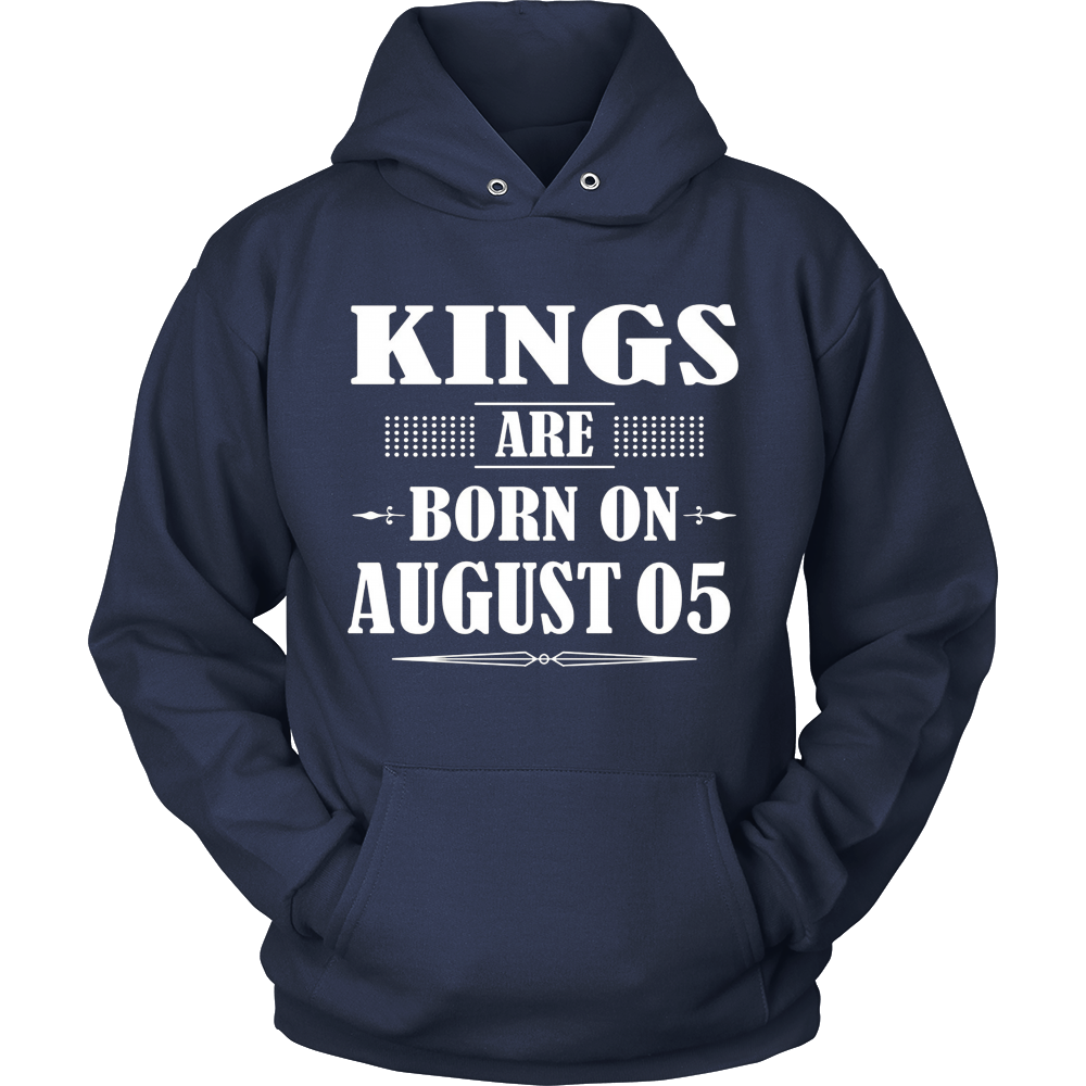 Kings Are Born On August 05 T-Shirt