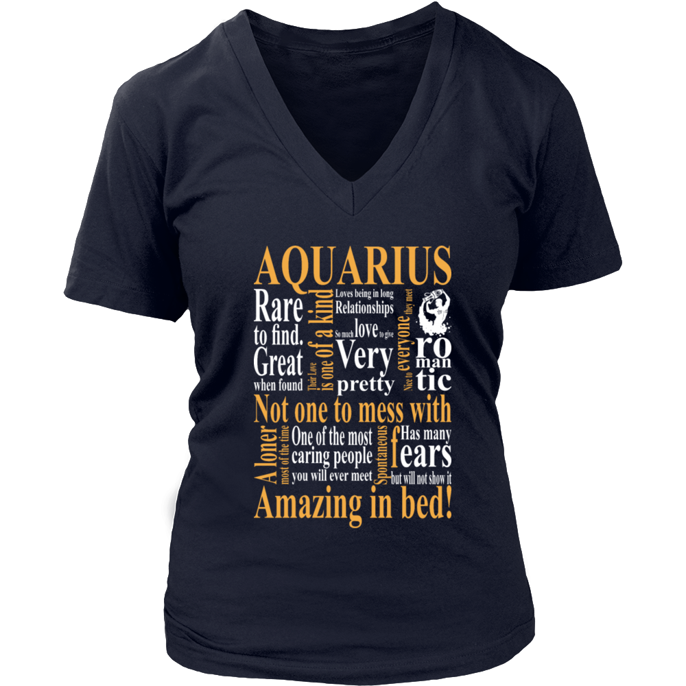 Aquarius Amazing In Bed T-Shirt