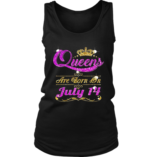 Women's I'm a Queens Born on July 14 shirt