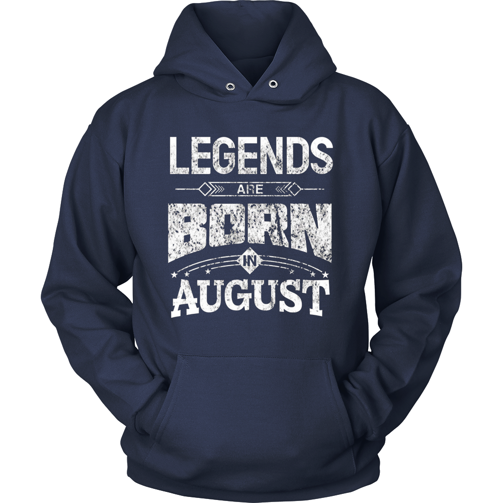 Legends Are Born In August T-Shirt Birthday Gifts T-Shirt