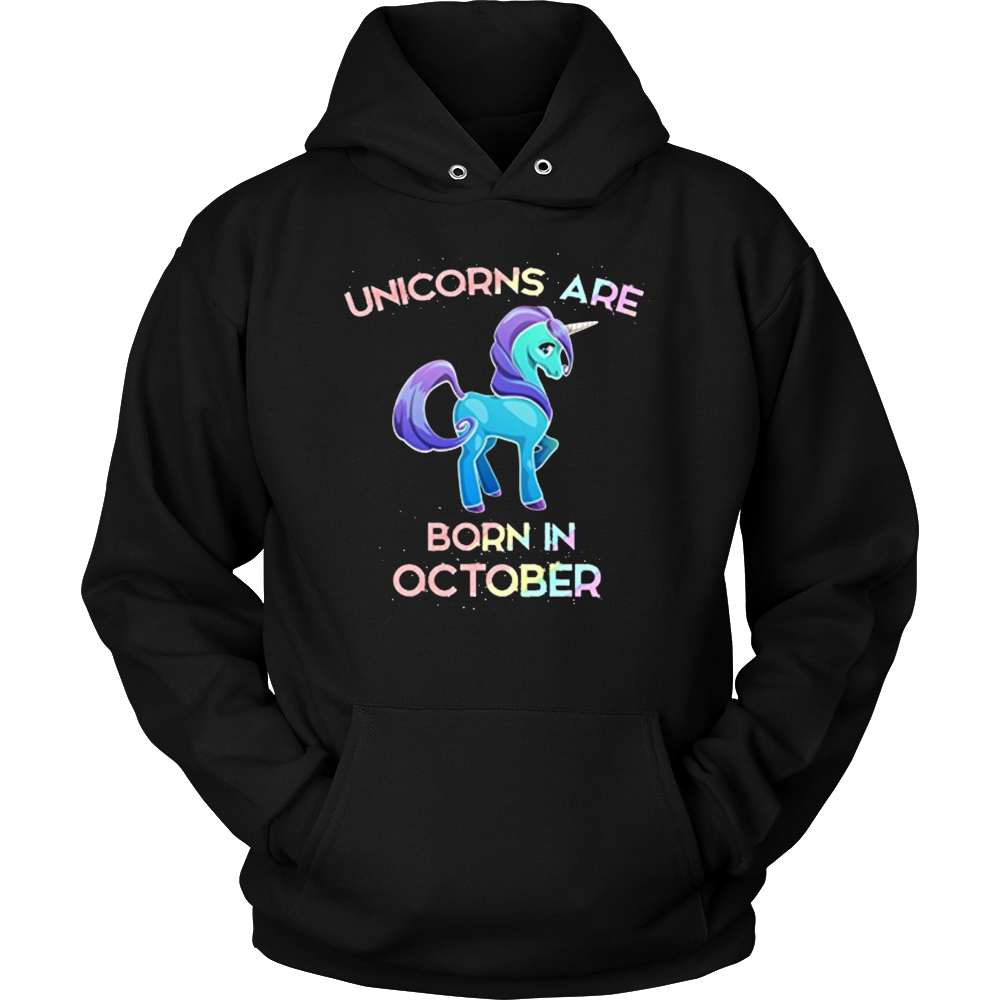 Unicorns Are Born In October T-Shirt