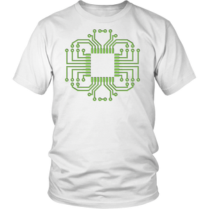 Electric Circuit Board Processor T Shirt