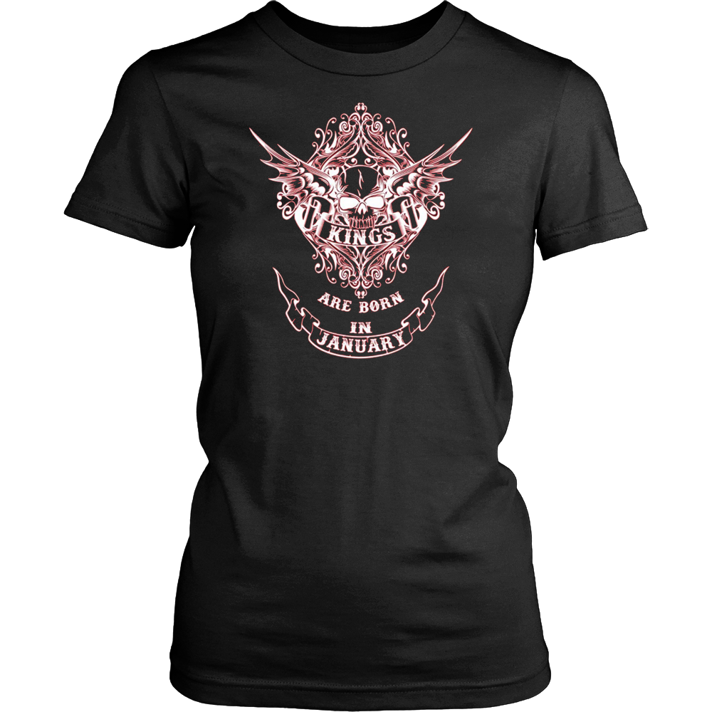 Kings are born in January T Shirt Unisex