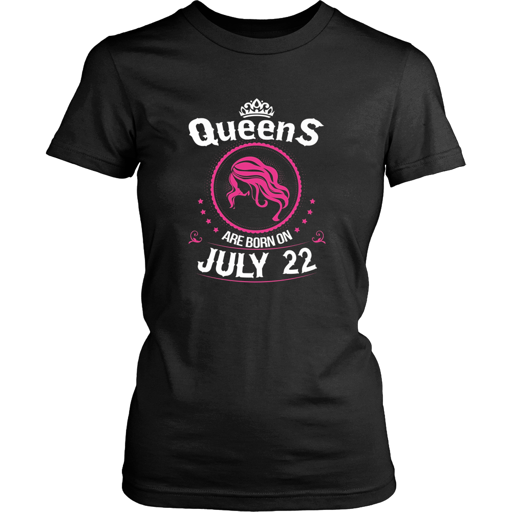 Queens Are Born On July 22 Birthday