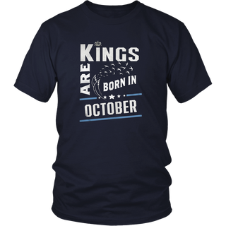 THE MEN BIRTHDAY KINGS ARE BORN IN OCTOBER