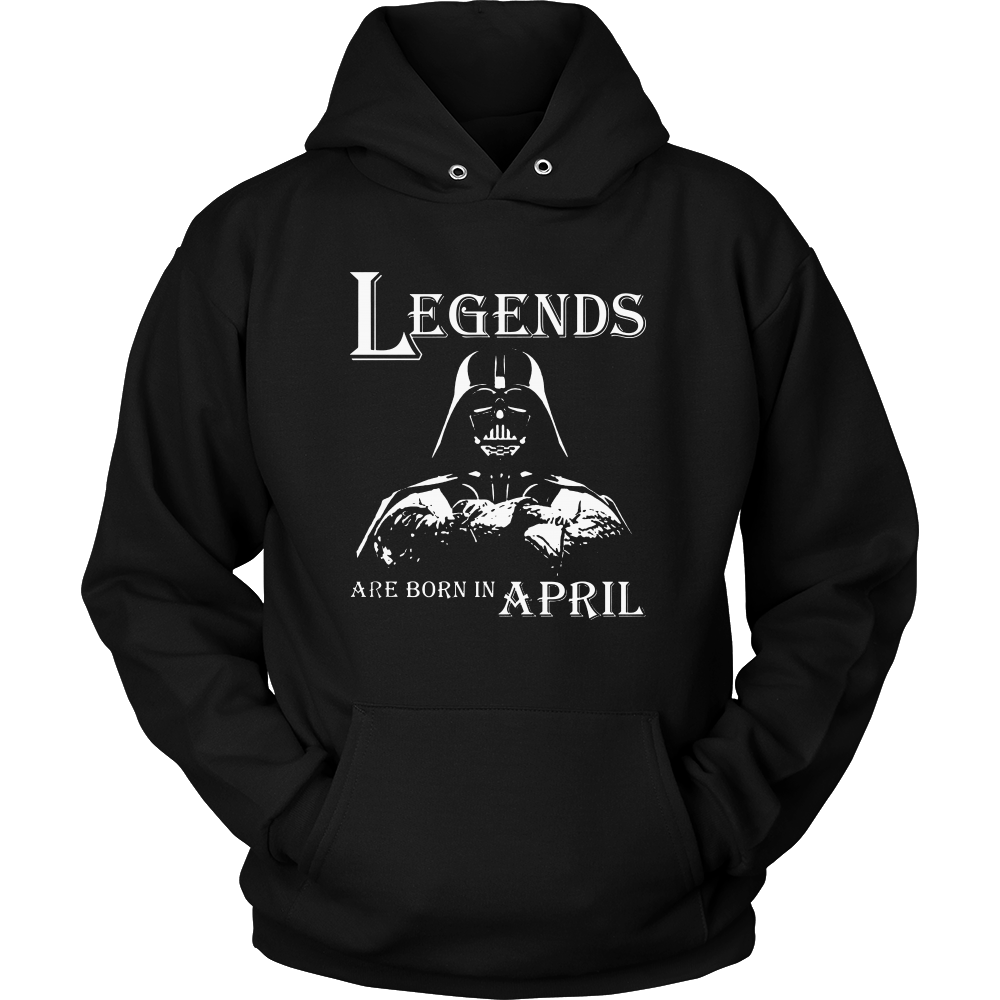 Legends Are Born In April Shirt, April Birthday T Shirts