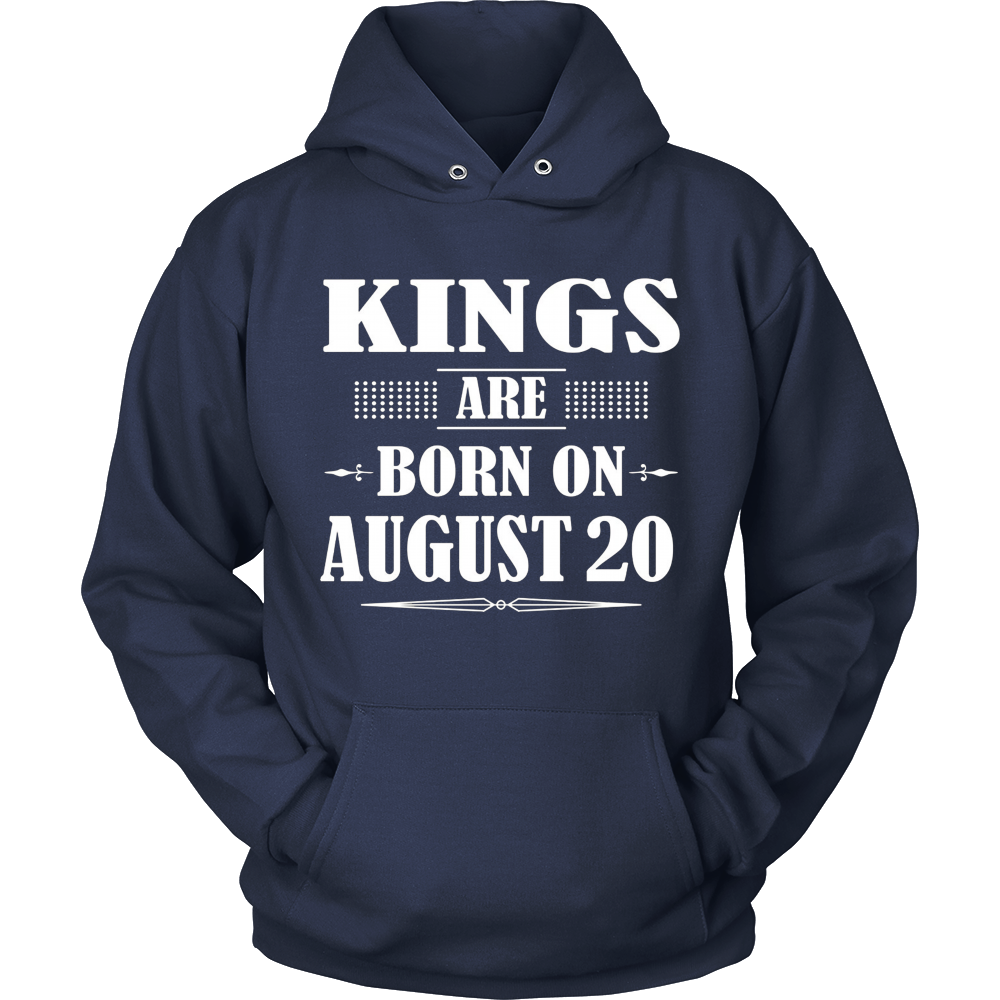 Kings Are Born On August 20 T-Shirt