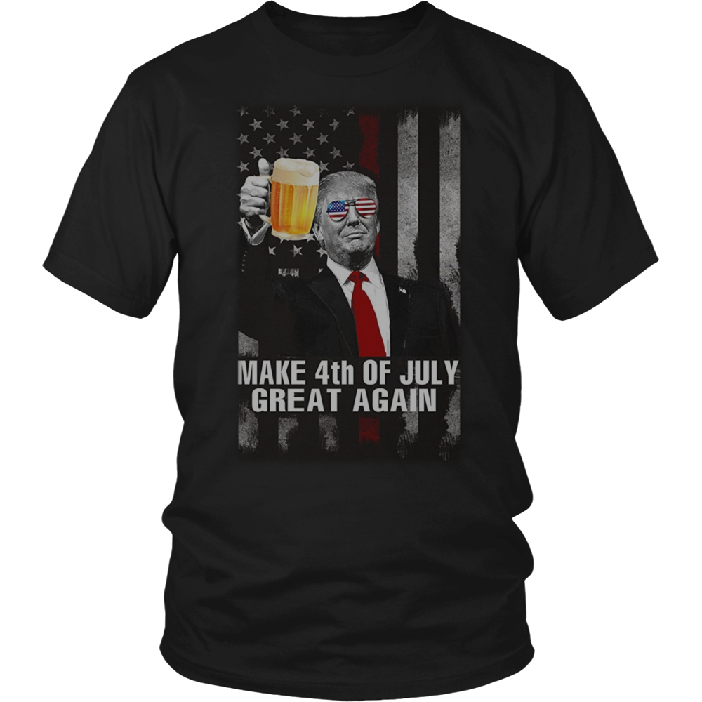Make 4th July Great Again T-shirt