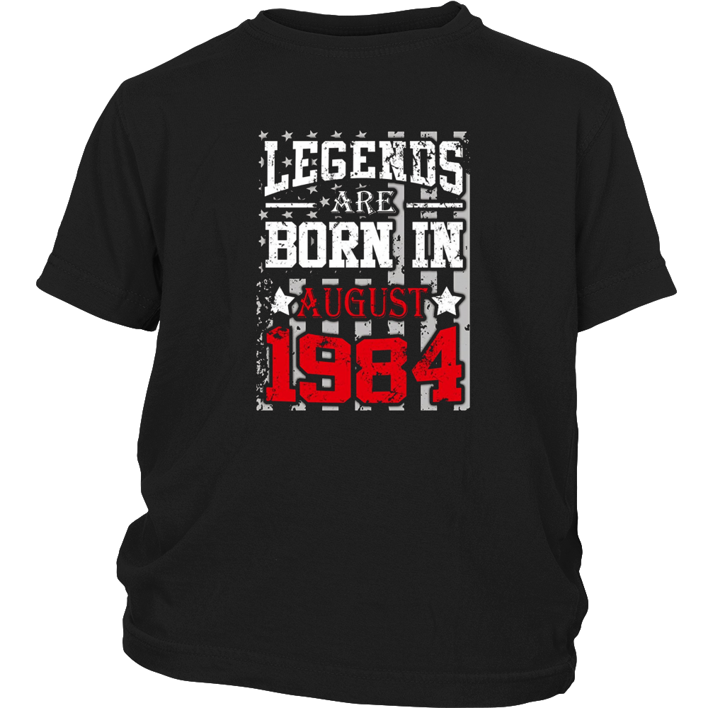 Legends Are Born In August 1984