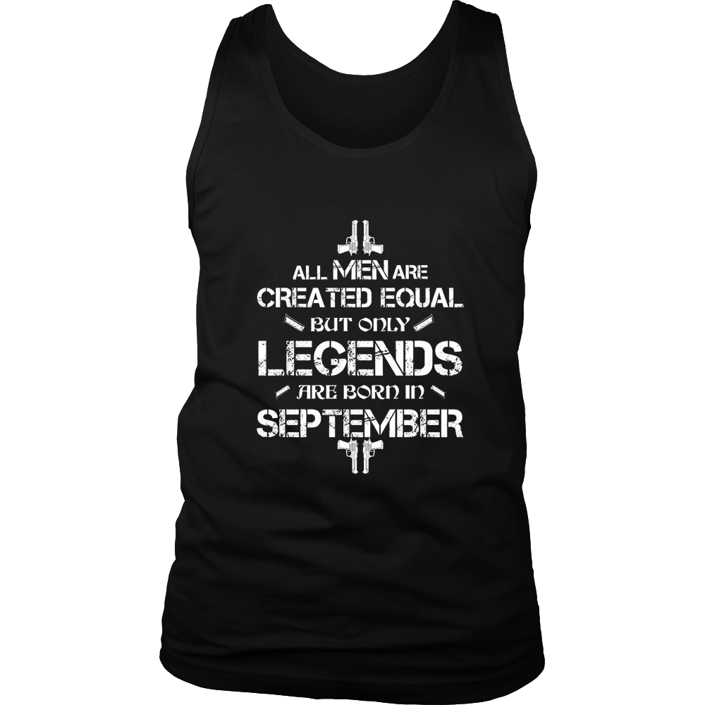 Only Legends Are Born In September T-Shirt