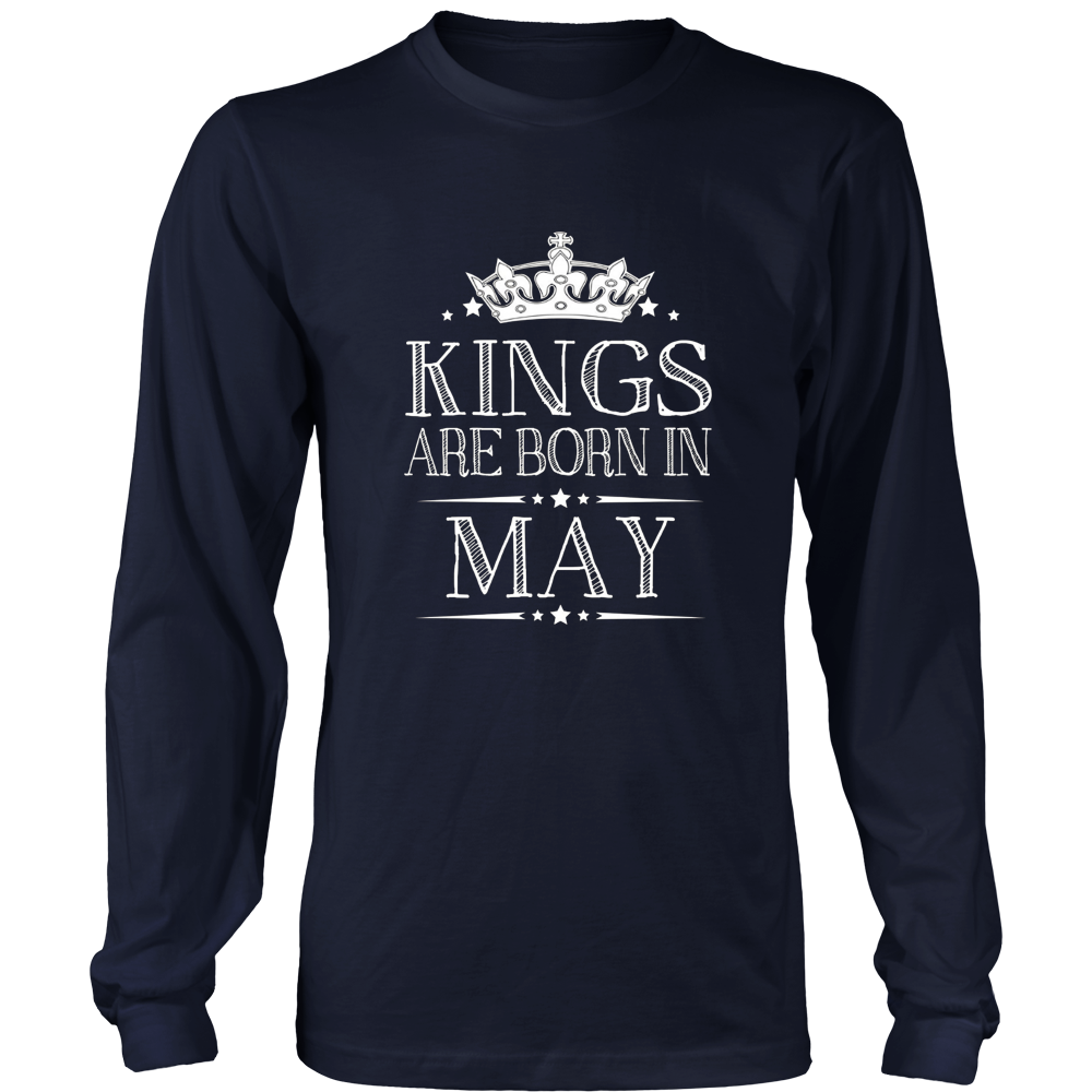 Kings Are Born In May Best Birthday Gifts for Men Boy