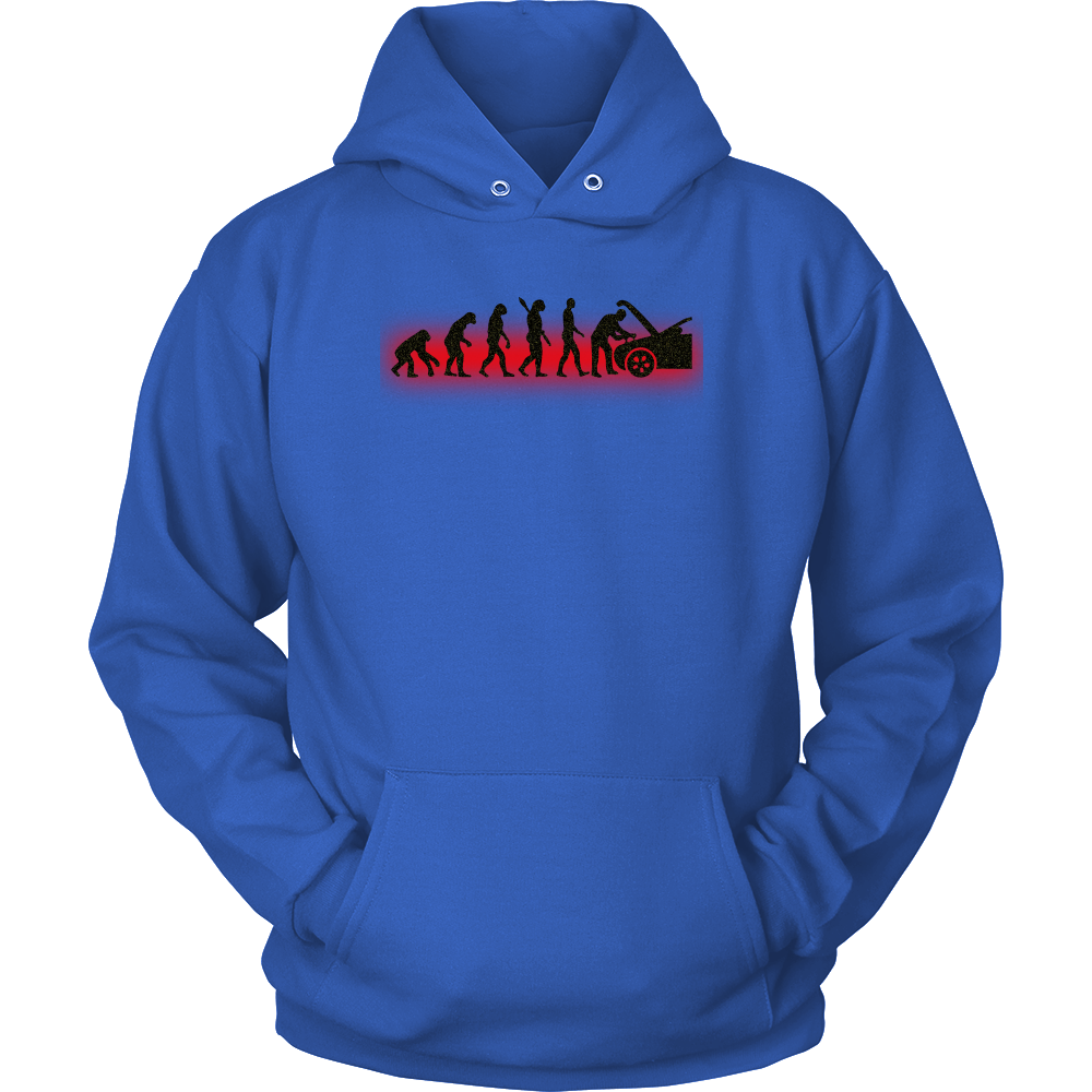 Hoodie Evolution Mechanic Funny T-shirt Automotive Technician Gift