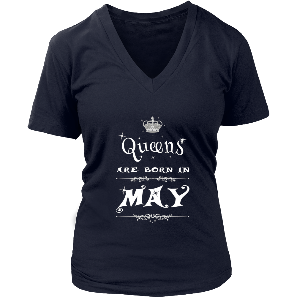Women's Queens Are Born In May TShirt