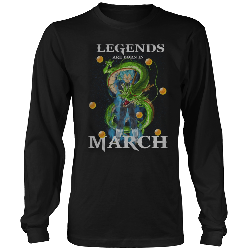 Legends Are Born In March Shirt