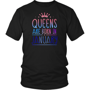 Womens Queens Are Born In January