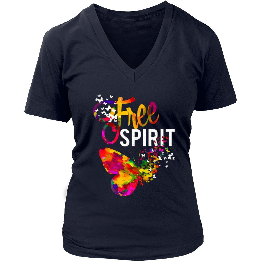 Free Spirit T-shirt for Positive Independent Thinkers