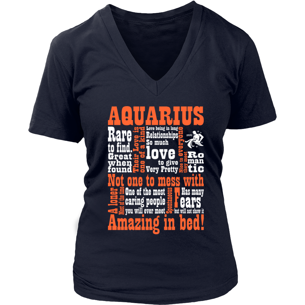 Very Pretty Romantic Aquarius Amazing In Bed T-Shirt