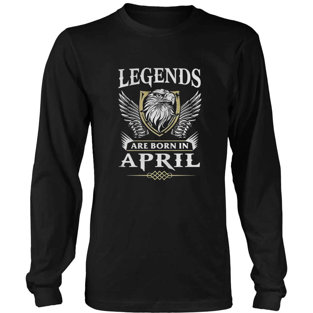 Legends are born in April T-Shirt Aries Pride