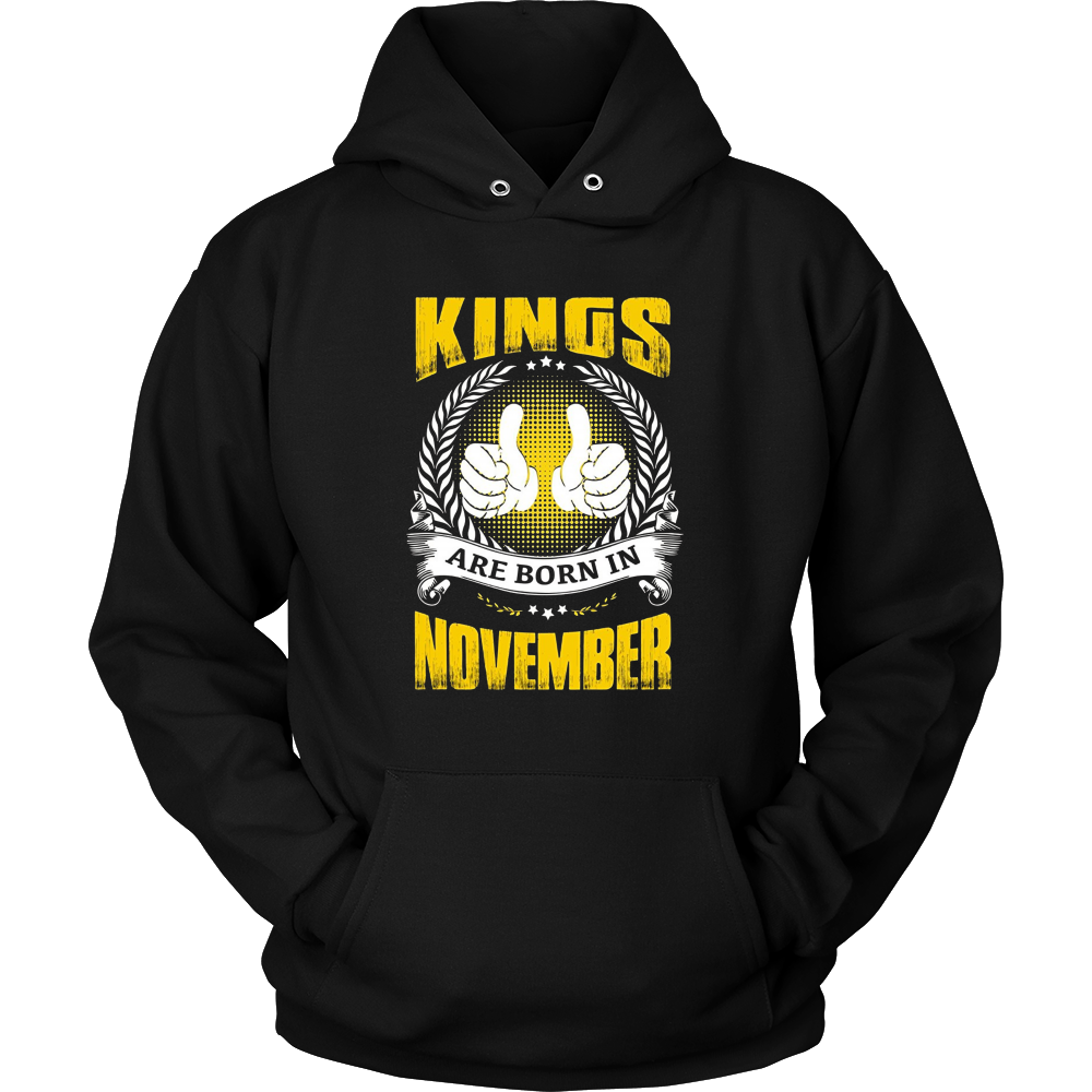 Kings Are Born In November Thumbs Up Birthday Gifts for Men