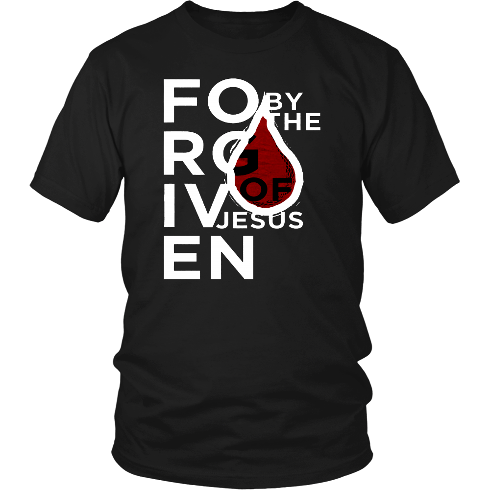 FORGIVEN BY THE BLOOD T-Shirt