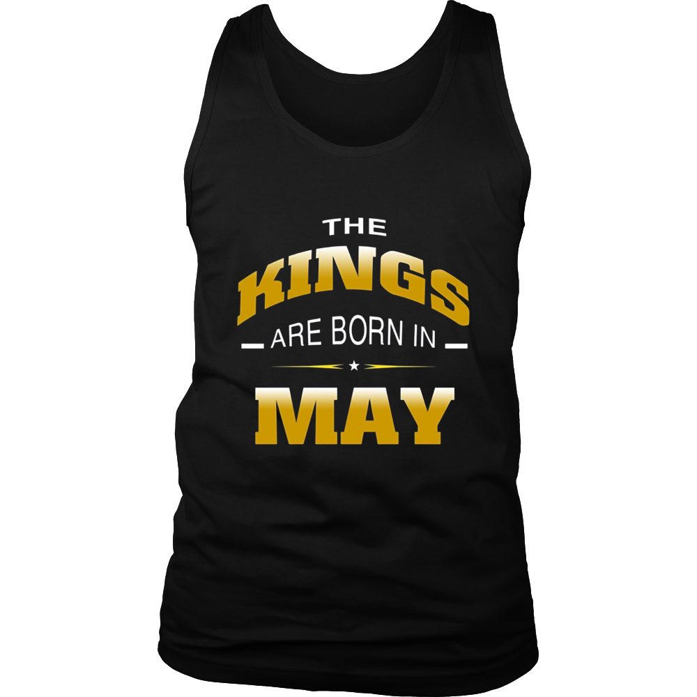 KINGs Are Born in May Shirt, Birthday Gift For Men