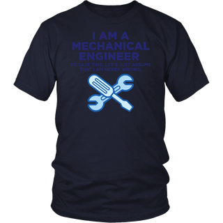 I Am A Mechanical Engineer 3 (dd)++ Tshirt
