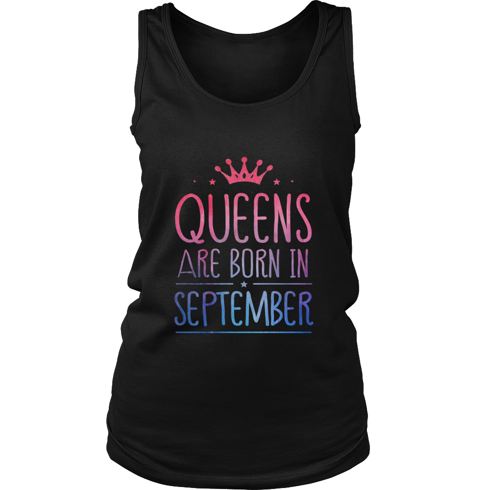 QUEENS ARE BORN IN SEPTEMBER MONTH SHIRT